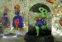 niki de sainte phalle / moderne kunst