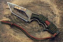 Couteaux et haches