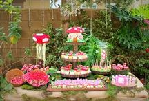 Fairy Garden and Tea Party Theme - Cake 2 The Rescue / Super cute party food and table decorating ideas to compliment our fantastic Fairy Garden and Tea Party themed Cake Rescue Kits from www.cake2therescue.com.au