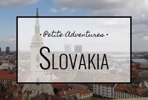Slovakia / For more travel tips, tales and info visit: https://petiteadventures.org/category/slovakia/