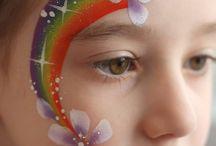 Pretty face paints