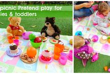 Bear sensory play / Sensory & messy play, activities, crafts for a bear theme and for the ''We're going on a bear hunt''