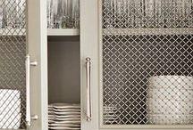 metal cupboard fronts