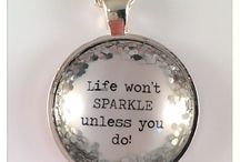 All that glitters.... / When your feeling down a little glitter goes a long way...