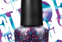 Polka.Com / Polka.Com is one of the new nail lacquers in the Euro Centrale collection by O.P.I. I love it because I love glitter, but mostly because the color combination of the purple, pink, and blue. It is simply adorable, and I love it.