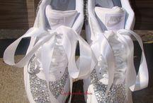 Wedding Rhinestone Shoes