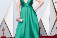 Oscar 2018 / Gala de los premios Oscar, alfombra roja. Actrices y actores nominados, ganadores. Vestidos, looks, trajes, peinados, maquillaje
