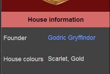 Harry Potter - Gryffindor house
