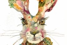 Illustrations-Animals / by Paula Hinderliter