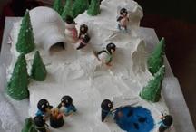 Penguin Birthday Cake Ideas for Stevie