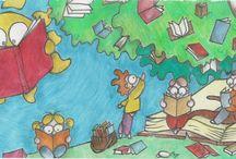 Bookland / My little hero, Nestoras, rediscovers joy in Bookland