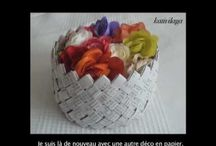 Paper baskets / bags