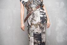 ГА_019 Платье Крыло ангела двойное с черной сеткой