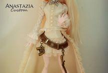 Monster high costumized dolls