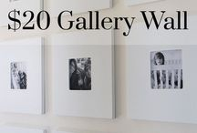 cheap picture wall