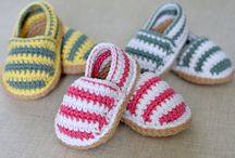 crochet baby shoes and sandals