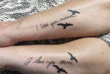 Mama/Tochter Tattoo Ideen