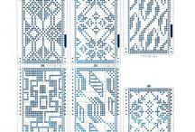 Wayuu 8 pat / bags pattern