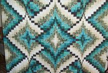 Bargello quilts and patterns for inspiration / Someday!
