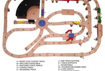 Thomas Train Track designs
