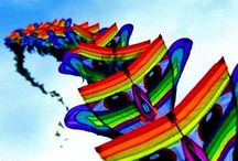 Kites-flying artworks / Ok a little on the geeky side but I find it relaxing.... / by Rachael Gaffey