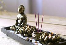 Cantinho da meditação