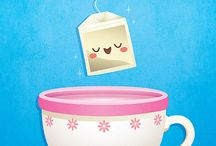 Tea cups and mugs