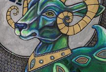 Витраж и мозаика