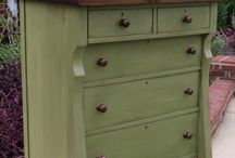 Refinished/painted furniture