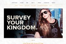 Shopify Sites / We make our online shops as simple as they can get. Take a look!