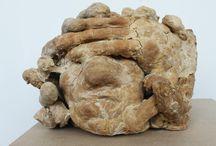 Sculpture / sculpture, bread, perishable materials, contemporary art
