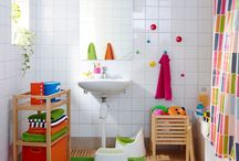 baño niños