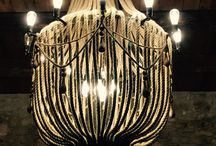 Masseria D'Estia / Chandelier with upcycled rope