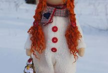 зимние куколки