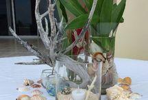 Dulce Belize Center Pieces / Wedding Decorations by Dulce Belize Weddings