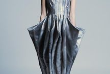 3D sculptural fashion