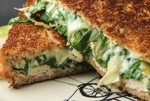 Healthy Sandwich Recipes / Creative, flavor filled healthy sandwich recipes to jazz up your lunch time routine!