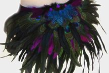 Burlesque Peacock Costume