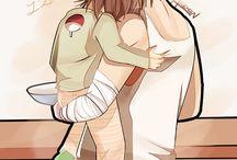 Sasuke e Sarada <3