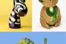 Food Art / Art comes in all shapes and materials... even FOOD!