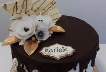 Čokoládové a nahé torty