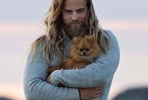 Lasse / Real life Thor. Straight outta Norway's Royal Navy.