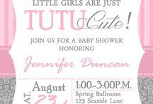 Einladungen zur Babyparty