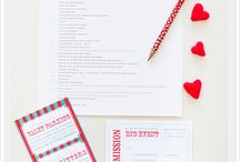 THB Events - Paper Items / Invitations, programs, favors and other paper items
