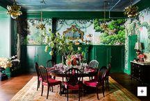 Dining / Оформление столовых: мебель, свет, декор.