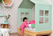 Pokoik ❤️ / Domki, namioty, półeczki, kąciki, huśtawki, kolory, printy... i dinusie.  Zwariowane inspiracje z dziecięcych wnętrz!