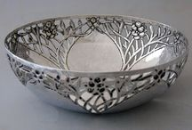 The Exquisite Art of the Silversmith / Silverware, Fine Craftsmanship, Contemporary Silver,  Antique Silver, Designs in Silver, Silversmith, Contemporary Silverware, Beautiful Silver, Silver Art.