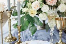 Свадьба в серо-голубых тонах