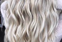 hair highlites blonde