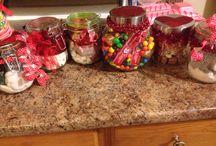 Christmas Ideas / Christmas ideas in jars